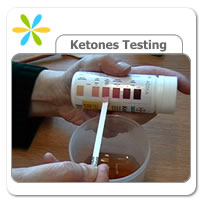 testing for ketones